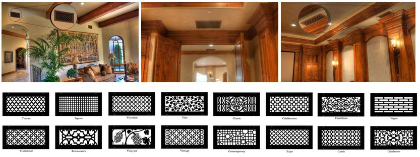 Decorative Air Ducts Vents Covers Utah